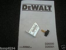 DEWALT D26500 D26501 DW678 DW678E PLANER DEPTH GUIDE AND SCREW