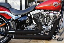 "Harley BSL ""Top Chopp Staggered Smooth"" für Breakout®  Softail Auspuffanlage Tüv"