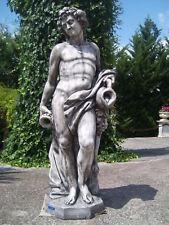 STATUA SCULTURA BACCO,DIO DEL VINO. CEMENTO/MARMO 190cm