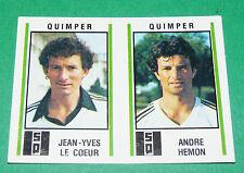 N°544 LE COEUR - HEMON SQ QUIMPER D2 PANINI FOOTBALL 81 1980-1981