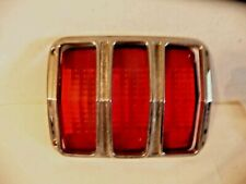 1964 65 1966 Mustang Tail Lamp Lens and Bezel OEM