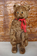 Old rare 1950 Russia Mechanical TEDDY BEAR Toy Figurine with key