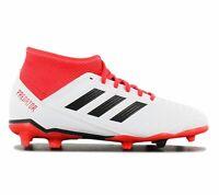 adidas PREDATOR 18.3 FG J Junior CP9011 Kinder Fußballschuhe Nocken Weiß NEU