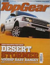Top Gear 05/2005 featuring TVR Sagaris, Range Rover, Mercedes, Ford, Renault