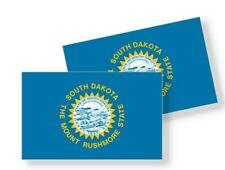 South Dakota Flag Stickers Flag Decals Vinyl Indoor Outdoor Stickers Set of 4