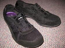 Skechers Memory Foam Breathe Easy Relaxation Black Shoes Womens US 6.5) SN 22463