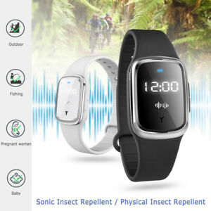 Ultrasonic Mosquito Repellent Watch Anti-mosquito Bracelet Pest Banish Device
