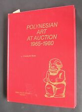 POLYNESIAN ART AT AUCTION 1965-1980 BOOK BY CHARLES W.MACK ONLY EDITION 1982