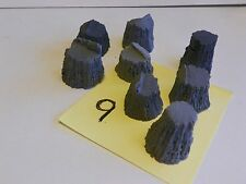 Stumps Assortment #9 cast resin All Scales see chart O,S,HO,HOn3 logging scenery