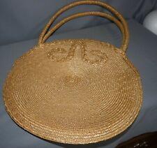 Large Straw Handbag Purse Beach Bag Beige People's Republic of China