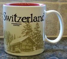 NWT Starbucks SWITZERLAND Version 2 Global Icon City Collector Series Mug w/SKU