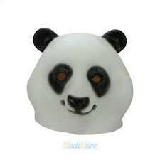 Creepy Panda Head Halloween Mask Latex Rubber Cosplay Costume Prop Party Toys US