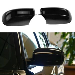 For 2011-2020 Dodge Charger GLOSSY BLACK Side Mirror Covers Overlay
