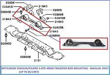 Mitsubishi Pajero/Shogun 2.8TD 4M40 (- 05/1997) - Transfer Box Mount - Manual