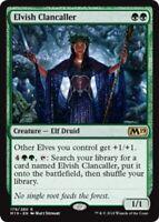 Elvish Clancaller x4 Magic the Gathering 4x Magic 2019 mtg card lot
