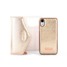 Ted Baker® Luxurious Party type SELIE Crossbody Case for iPhone XR - Rose Gold