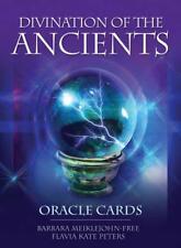 Divination Of The Ancients: Oracle Cartes, 45 Cartes et Guide par Flavia Kate