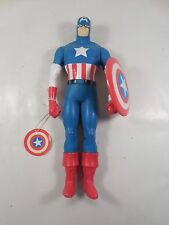 "NEW WITH TAGS HAMILTON GIFTS MARVEL CAPTAIN AMERICA 15"" FIGURE 1991 W/SHIELD"