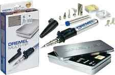 Dremel Cordless Soldering Versatip 2000-6 Butane Soldering Iron + 6 accessories