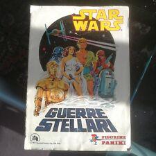 Bellissimo il mio Album Figurine Star Wars Guerre Stellari Panini COMPLETO!