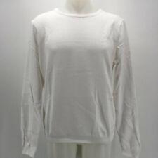 Escales White Men's Sweater Size 3XL