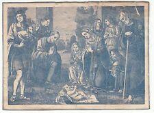 IMAGE ancienne RELIGIEUSE EGLISE CHRETIEN  JESUS PRIERE   N°84