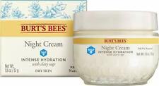 Burt's Bee Night Cream Intense Hydration For Dry Skin 1.8oz/51g NEW BOX