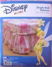 ~ Disney Princess - TINKER BELL SINGLE BLUE RUFFLED VALANCE SKIRT WRAP BASE