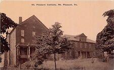 A29/ Mt Pleasant Pennsylvania Pa Postcard Institute School Building c1910