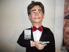 James Bond Secret Agent Pro Ventriloquist Figure or dummy  many  movements
