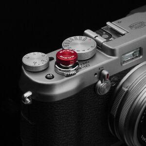 Gariz Soft Release Button XA-SBA3 for Fujifilm Fuji X-pro1 X100s X10 XE1 Red