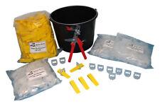 Balleo Fliesen Nivelliersystem XL Set 300 Laschen - 250 Keile- Metallzange
