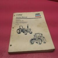 FORD SERVICE MANUAL TRACTORS SERIES 10, 30 VOL.2B (LT348)