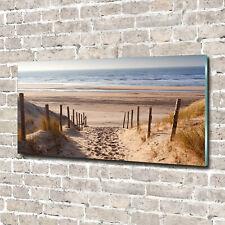 Acrylglas-Bild Wandbilder Druck 140x70 Deko Landschaften Küstendünen