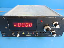 MKS 270A Signal Conditioner Pressure Flow Display