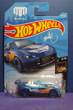2018 Hot Wheels New Blue MAD MIKE '15 MAZDA MX-5 MIATA. HW NIGHTBURNERZ 3/10