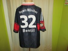 "FC Bayern München Adidas Matchworn Trikot 1997-1999 ""OPEL"" + Nr.32 Bentil Gr.XL"