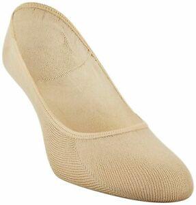 Peds 3pr Women's Ultra Low Cushion Liner Socks Pad on Ball Foot Gel Tab 5-10