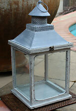 Large French Provincial  Style  Rustic  Metal Lantern  BRAND NEW   * STUNNING *