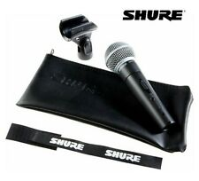 Shure SM58 LC Handheld Dynamic Vocal Microphone NEW l USA Authorized Dealer