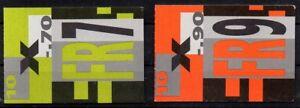 Schweiz, Michel Nr. 0-101 + 0-102 (2 Markenheftchen) postfrisch.