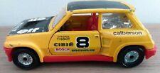 Vintage Corgi Renault 5 Turbo Yellow
