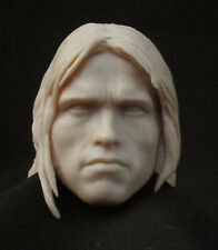 CUSTOM Arnold Schwarzenegger Conan RESIN HEAD SCULPT. Action figures, 1/6 scale