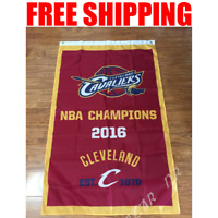Cleveland Cavaliers 2018 Champions Flag NBA Basketball Banner 3X5 ft 2 Gromments