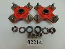 02214 Honda ATC 250R OEM Rear Wheel Hubs 85 1985