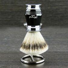 Silver Tip Men Shaving Badger Brush with Brush's Stand - Shaving Set for Men's