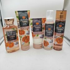 Bath & Body Works Marshmallow Pumpkin Latte Collection