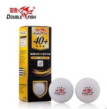 12 balls/set Double Fish New material 3 star 40mm+  Table Tennis Balls