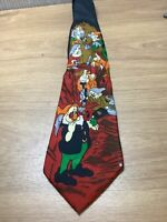 Disney Snow White And The Seven Dwarfs Tie Collectable Mens Novelty Vincent
