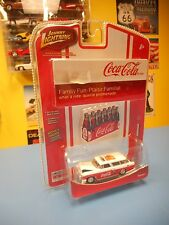 JOHNNY LIGHTNING   COCA COLA LIMITED EDITION   '55 CHEVY NOMAD  R4